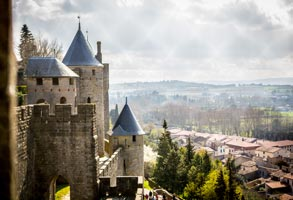 Carcassonne camping