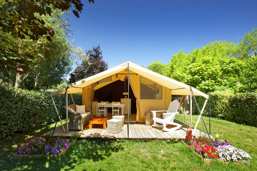 location tente vacances camping carcassonne
