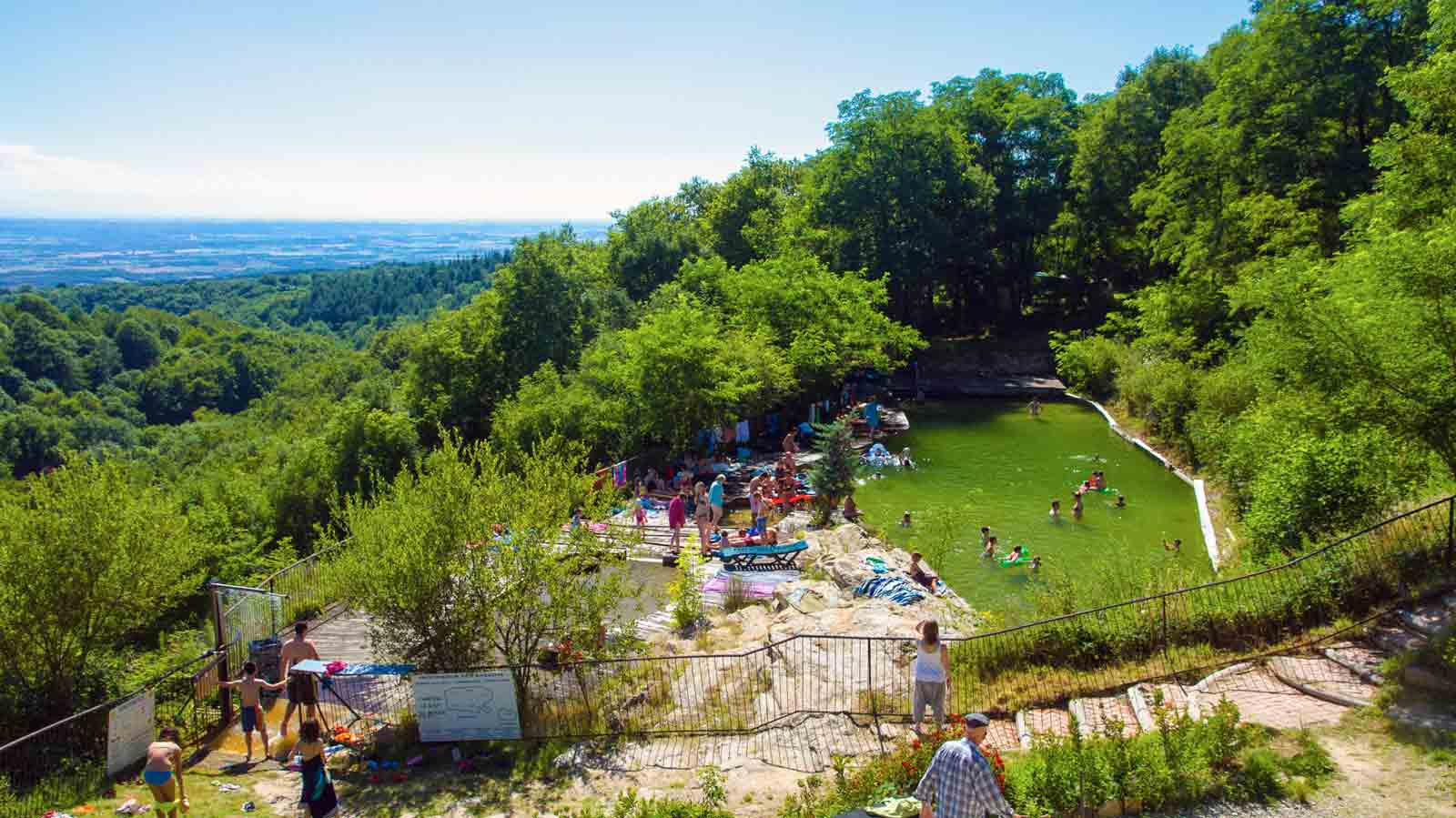 Camping Carcasonne piscine