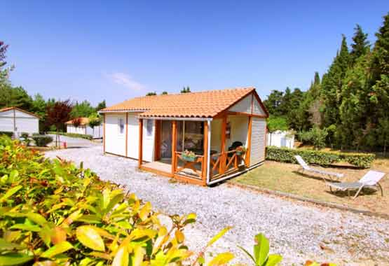 Location chalet camping Aude