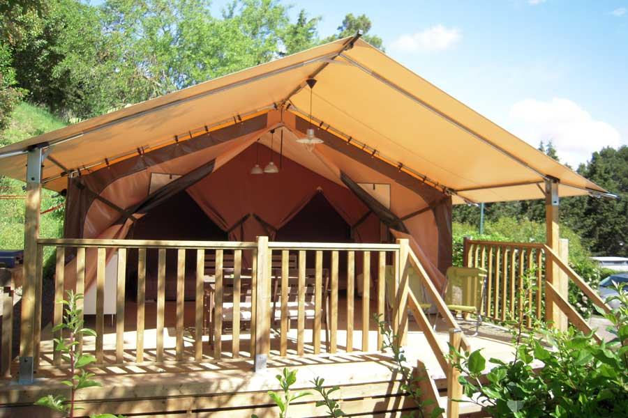 location mobil-home camping pinede