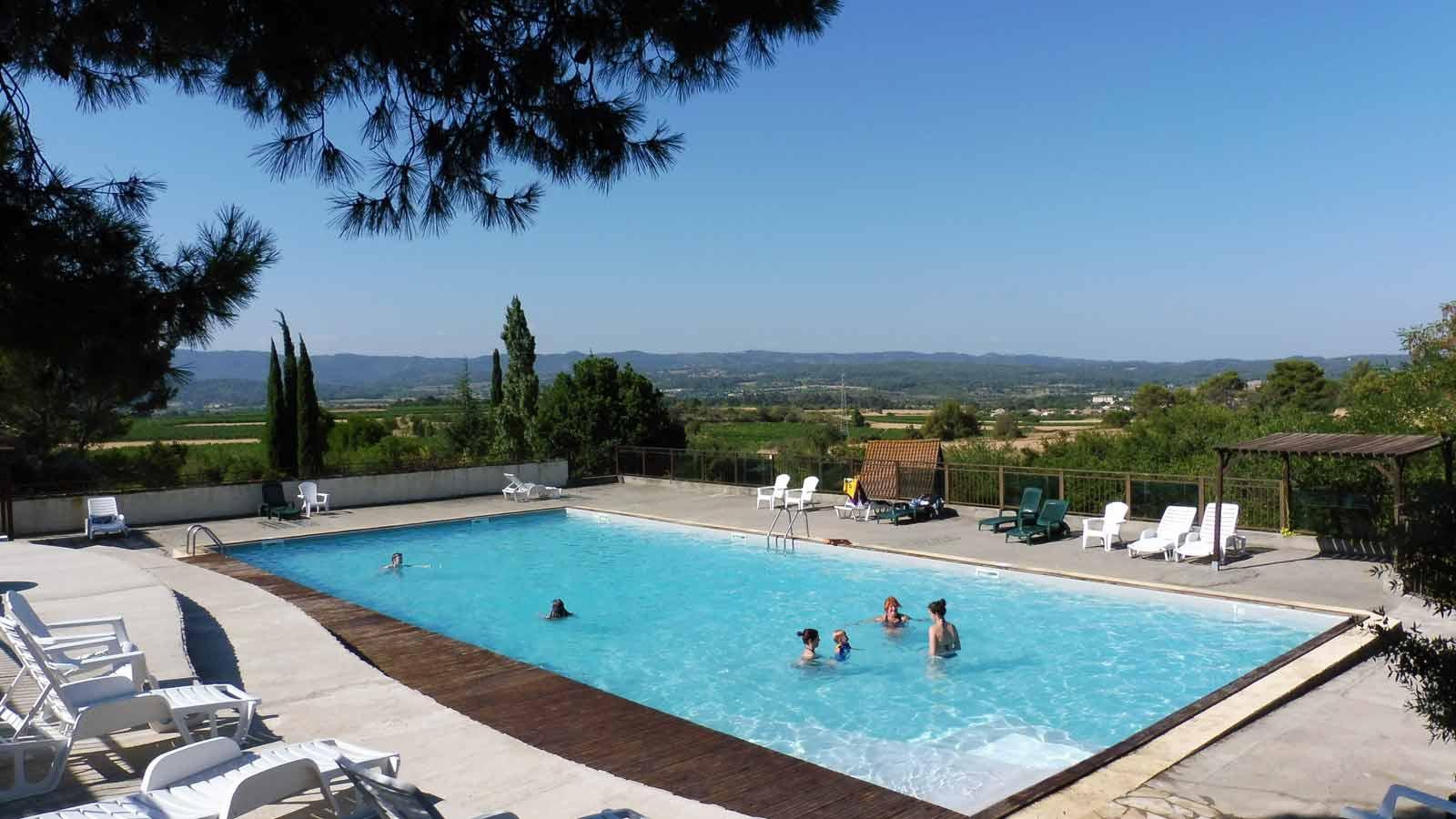 Camping Carcassonne avec piscine